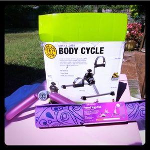 Purple Themed Workout Set